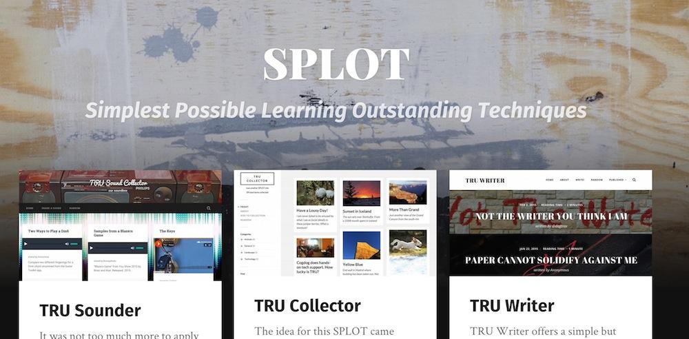 SPLOT site